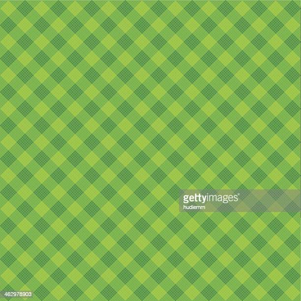 vector green plaid fabric background textured - textile industry stock illustrations