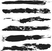 Vector Grunge Brushes Set 4