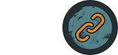 vector grunge hiperlink icon, graphic design element