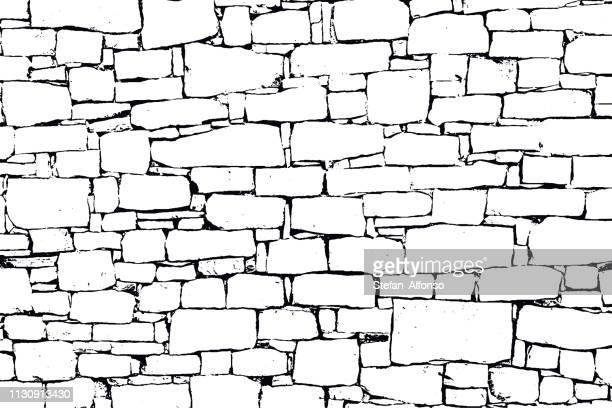 ベクトルグランジ壁テクスチャ - 石材点のイラスト素材/クリップアート素材/マンガ素材/アイコン素材