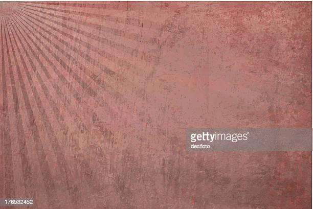 vector grungy sunbeam background - maroon stock illustrations, clip art, cartoons, & icons