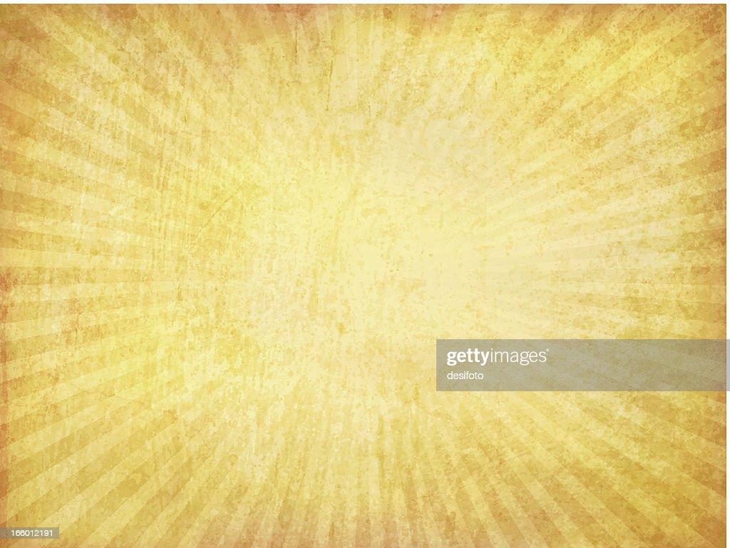 Vektor-Grunge-Sunburst Hintergrund : Stock-Illustration