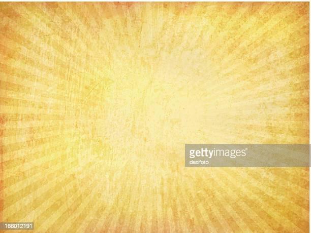 Vector Grungy Sunburst Background