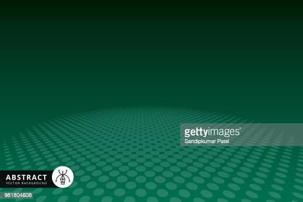 vector halftone abstract transition dotted circular - green background stock illustrations, clip art, cartoons, & icons