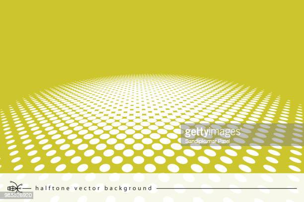 vector halftone abstract transition dotted circular - high key stock illustrations, clip art, cartoons, & icons