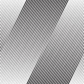 Vector Halftone Line Transition Wallpaper Pattern