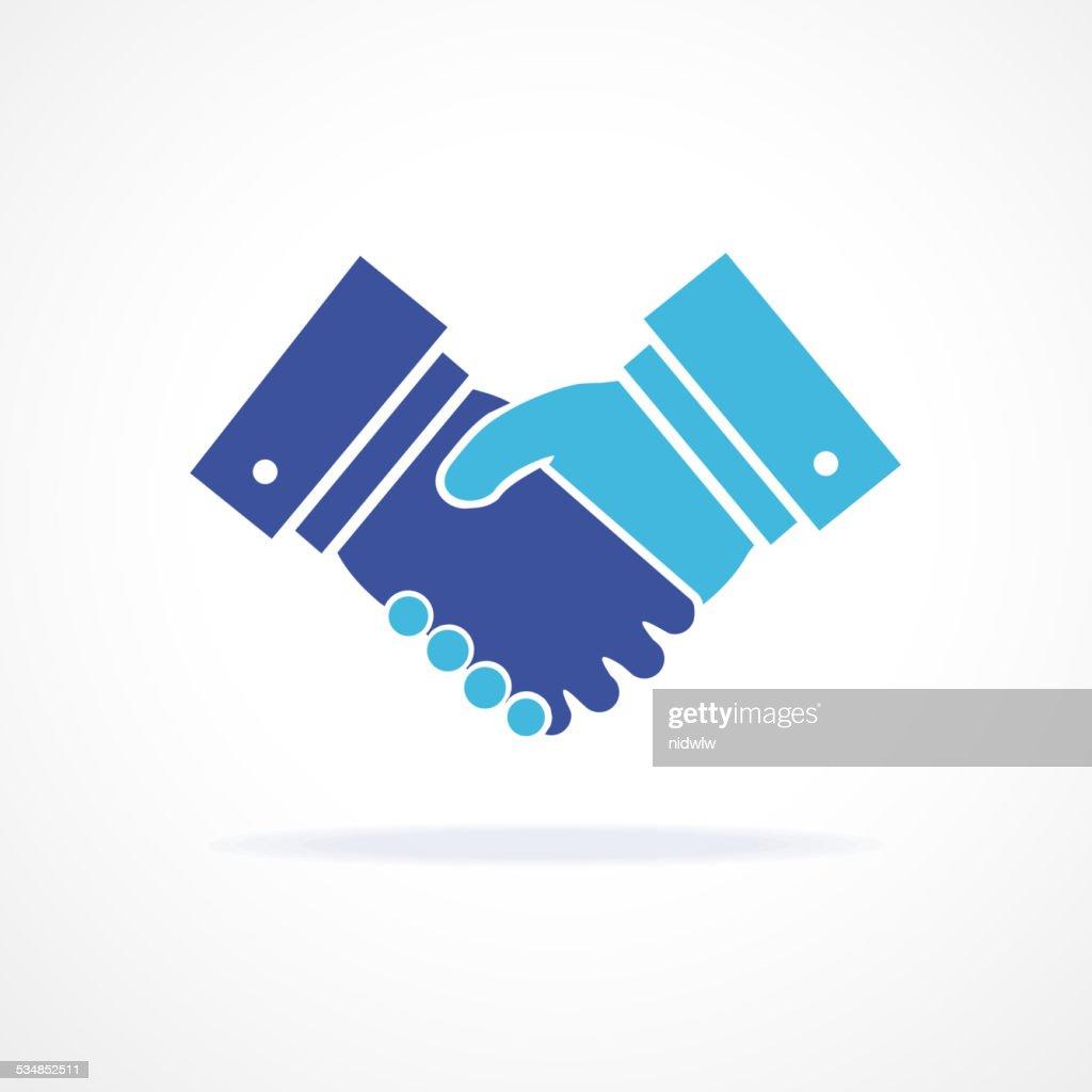 Vector. Handshake illustration