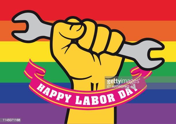 Vector Happy Labor Day