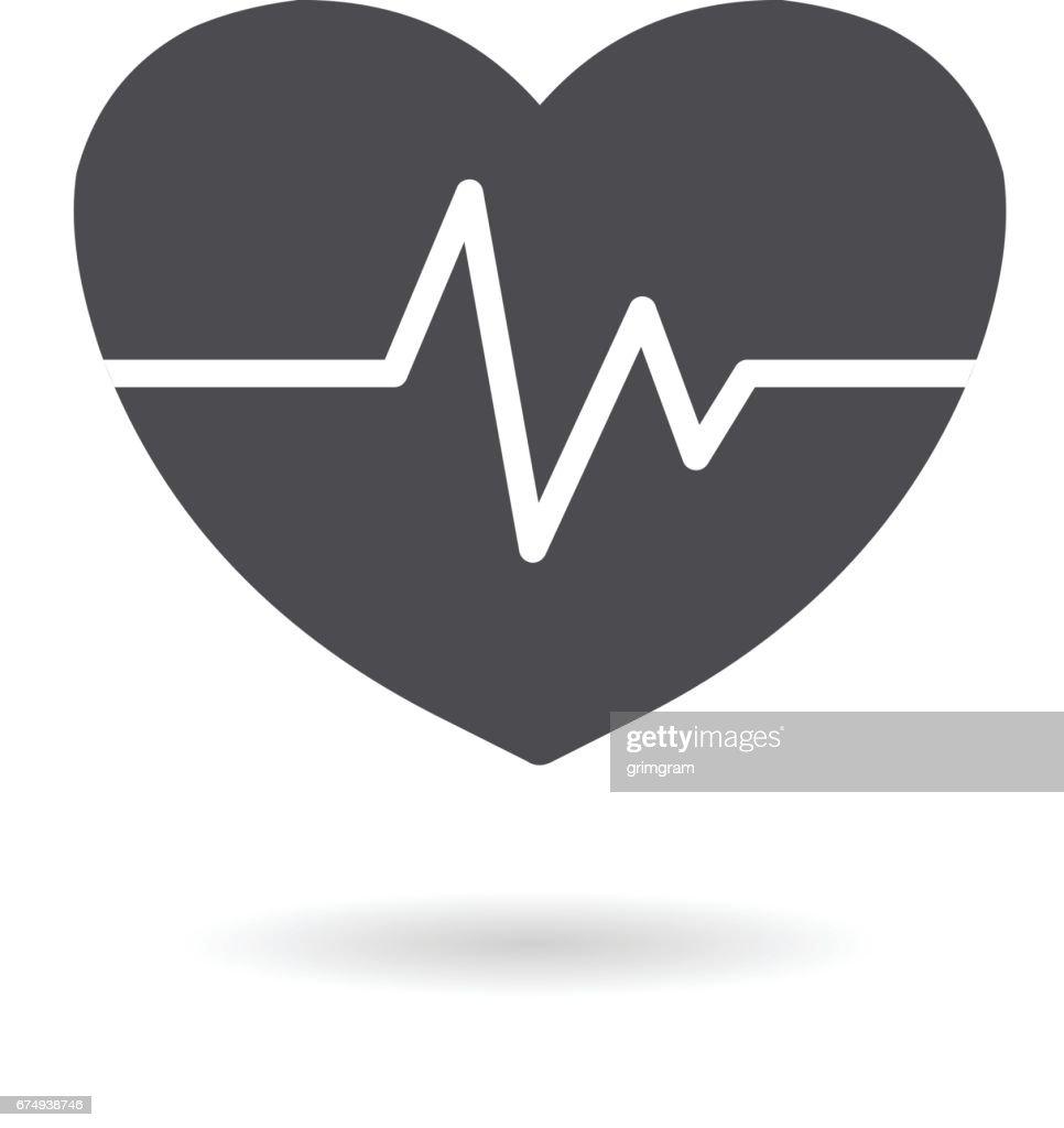 Vector Heart Icon.