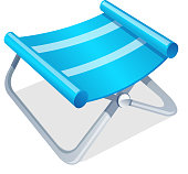 vector icon camping chair