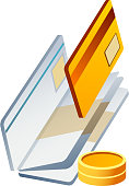 vector icon credit card