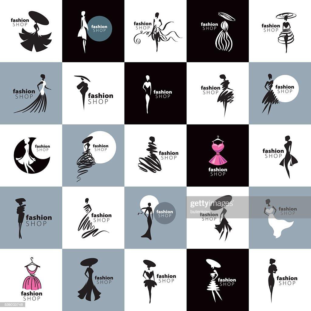 vector icon girls
