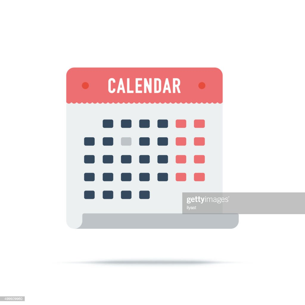 Vector Icon of Calendar