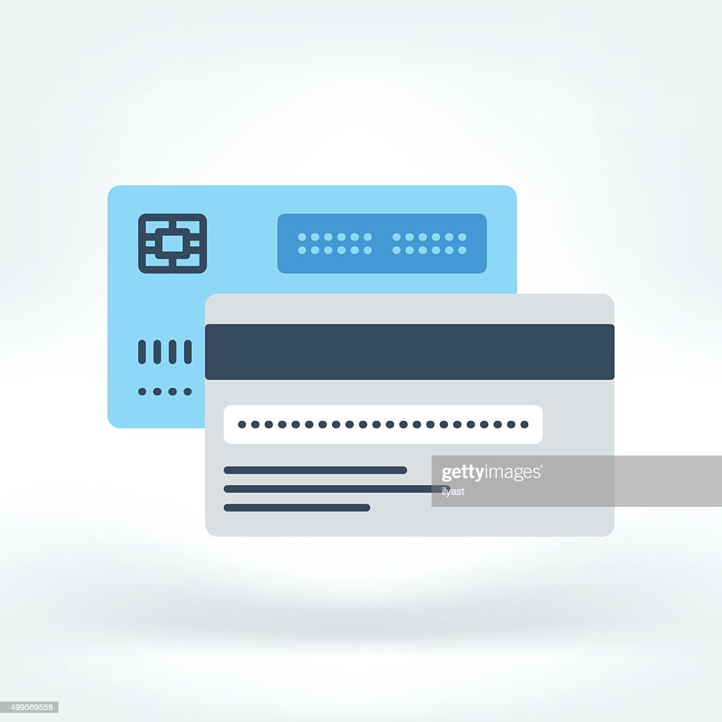 Vector Icon of Credit Card Icon