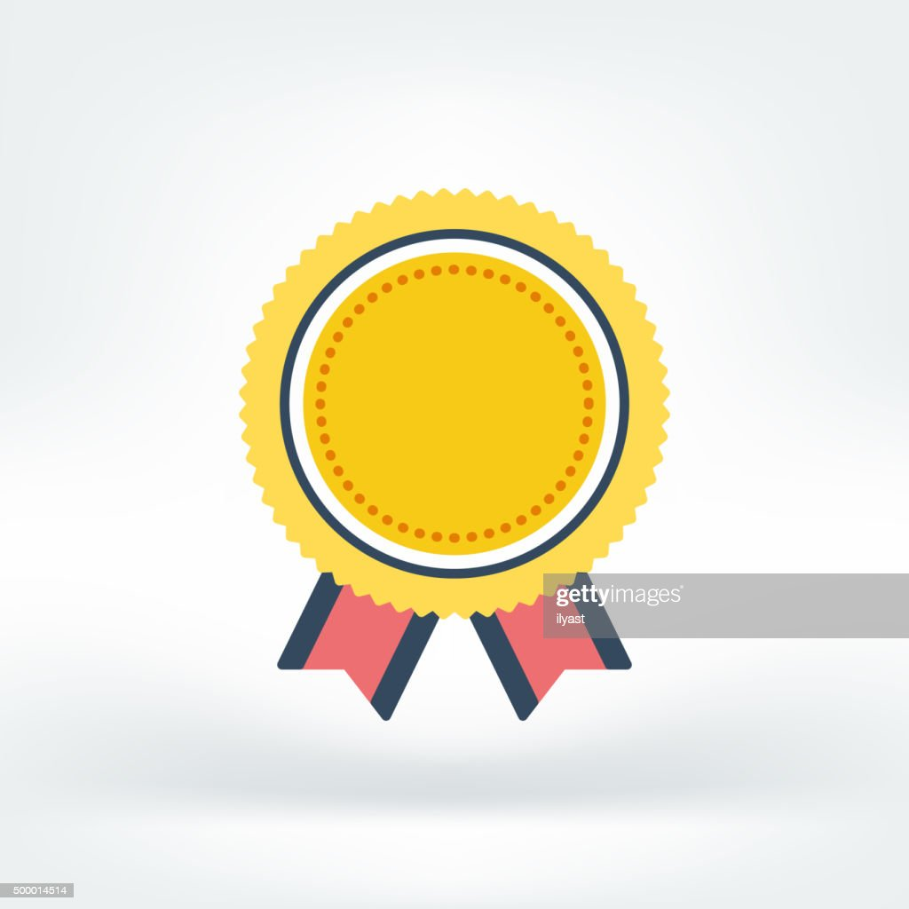 Vector Icon of Success : stock illustration
