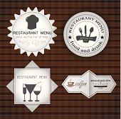vector icons / cafe and restaurant