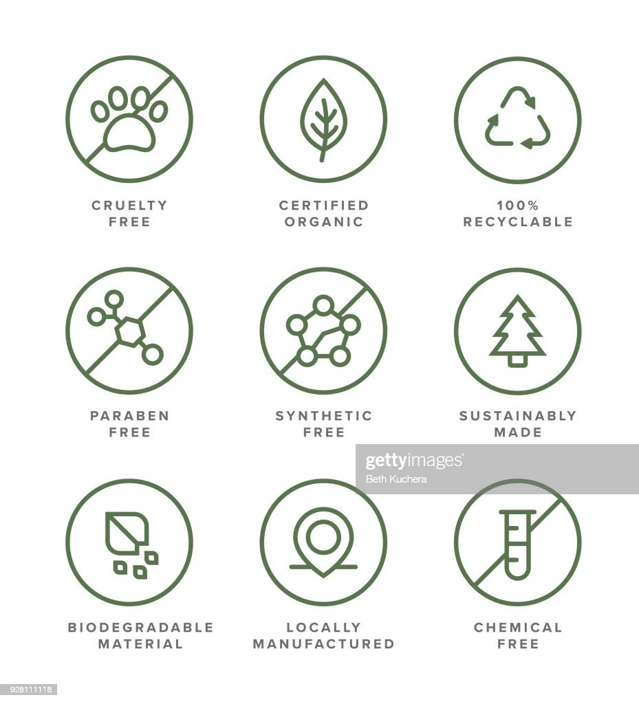 Vector Icons Health and Beauty Business