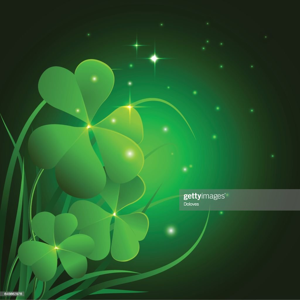 Vector Illustrarion template Saint Patrick Day celebration.