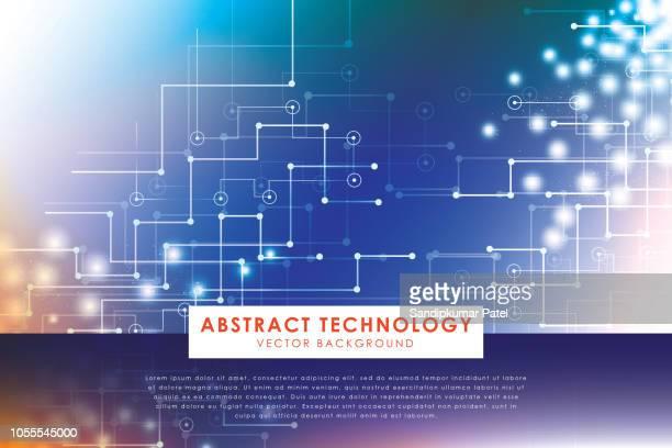 ilustrações, clipart, desenhos animados e ícones de vector ilustração abstrata futurista circuito - retina globo ocular