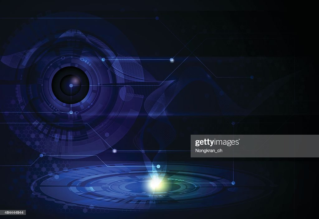 Vector illustration Abstract futuristic- tecnology background