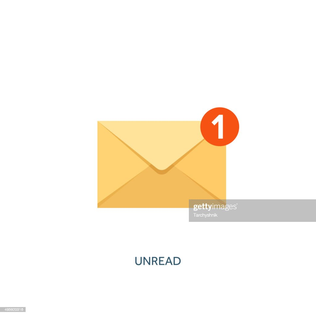 Vector illustration. Envelope icon. Letter, email. Message and communication