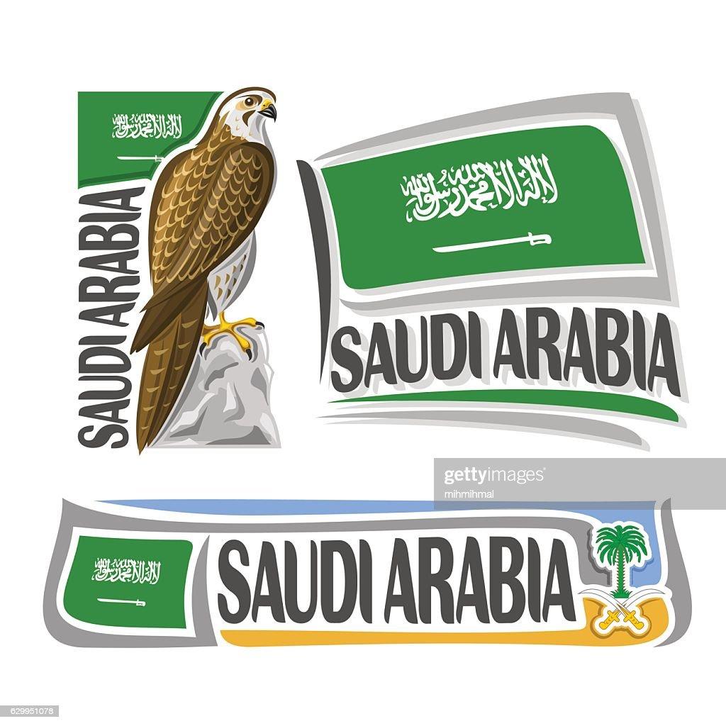 Vector illustration for Saudi Arabia