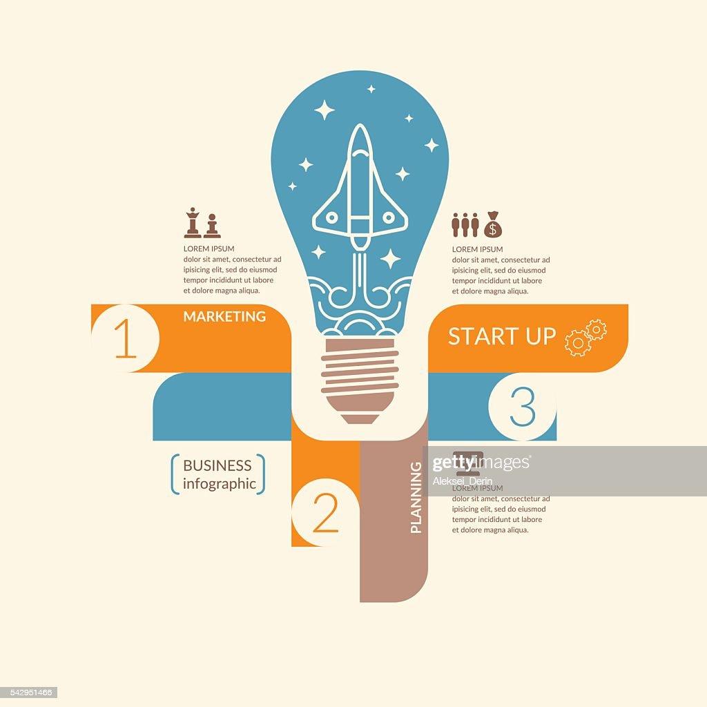 Vector illustration for start up