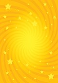 Vector illustration for swirl design. Swirling radial pattern stars background. Vortex starburst spiral twirl square. Helix rotation rays. Converging psychedelic scalable stripes. Fun sun light beams