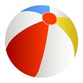 Vector illustration of a Beach Ball
