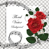 Vector illustration of a beautiful roses