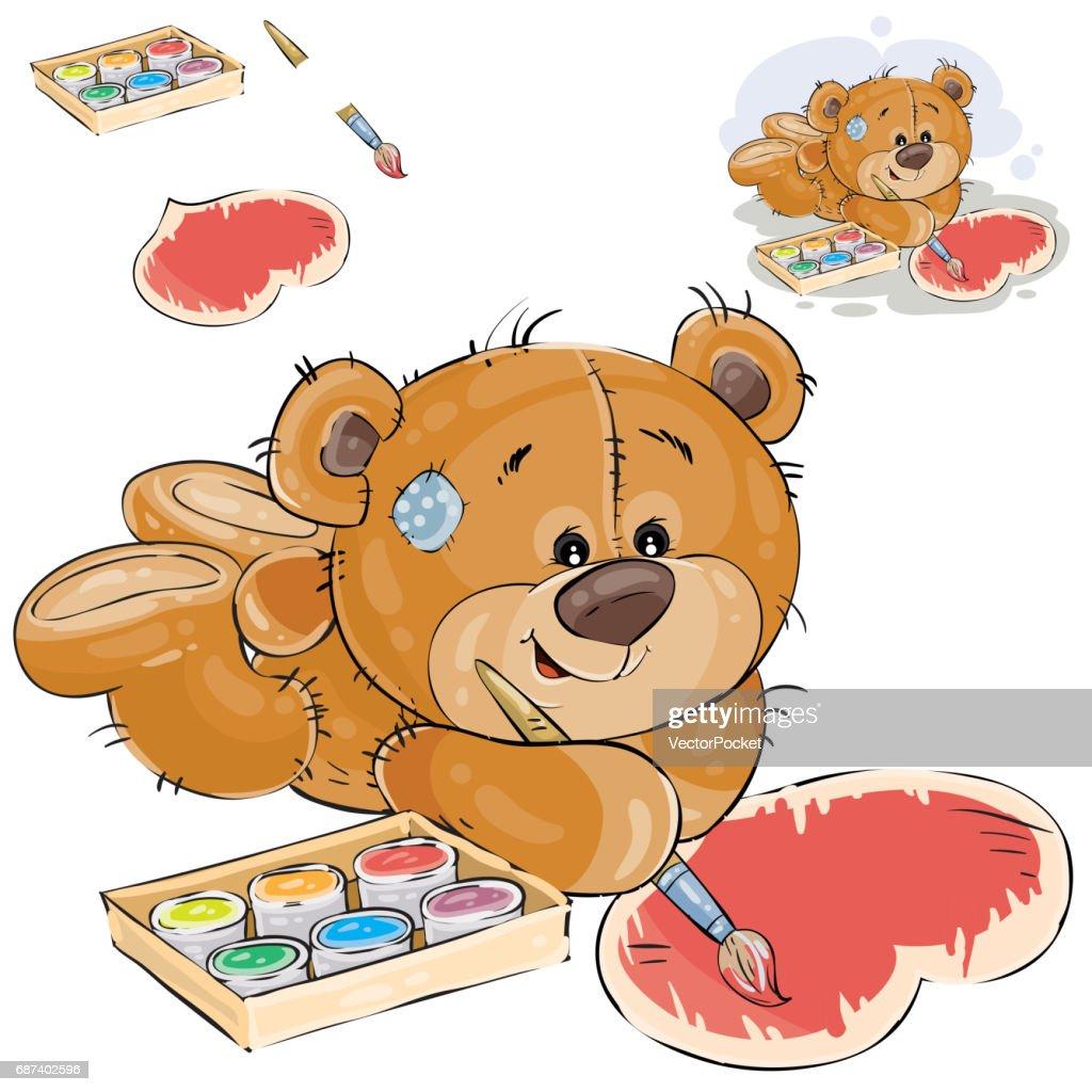 Großartig Teddybär Färbung Seite Galerie - Beispiel Business ...