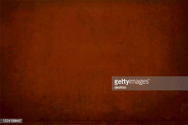 vector illustration of a dark brown, coke coloured spotted empty grunge textured backgrounds - brown stock illustrations