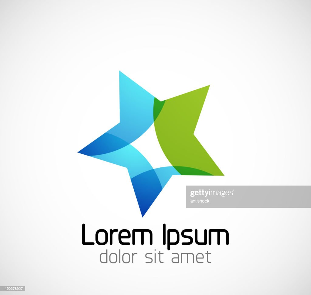 Vector illustration of abstract star background