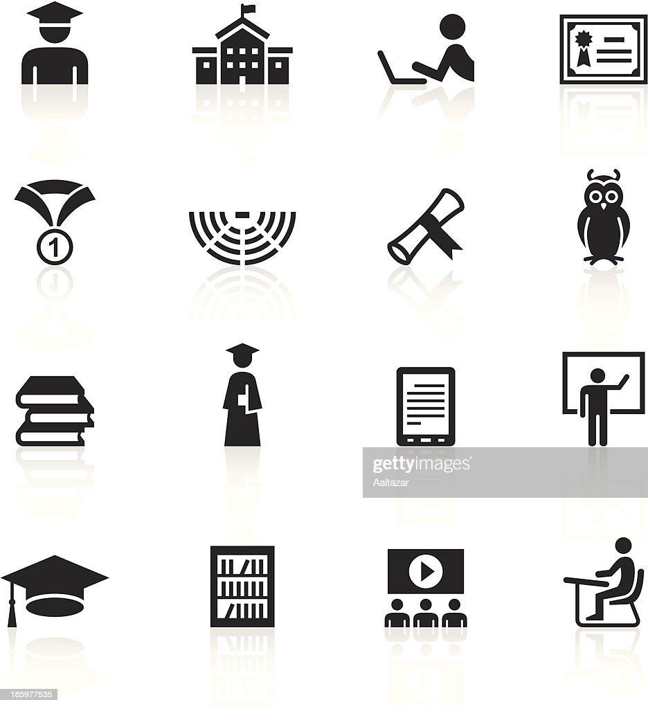 Vector Illustration Of Education Symbols Vector Art Getty Images