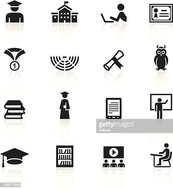 vector illustration of education シンボル - 円形劇場点のイラスト素材/クリップアート素材/マンガ素材/アイコン素材