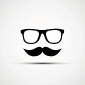 Vector illustration of glasses