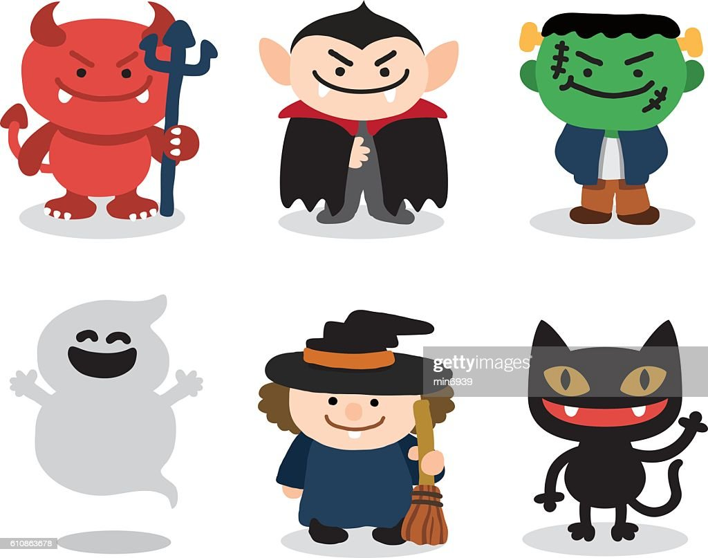 vector illustration of Halloween character