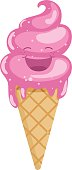 Vector Illustration Of Ice Cream