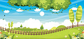 Vector Illustration Of Nature Background