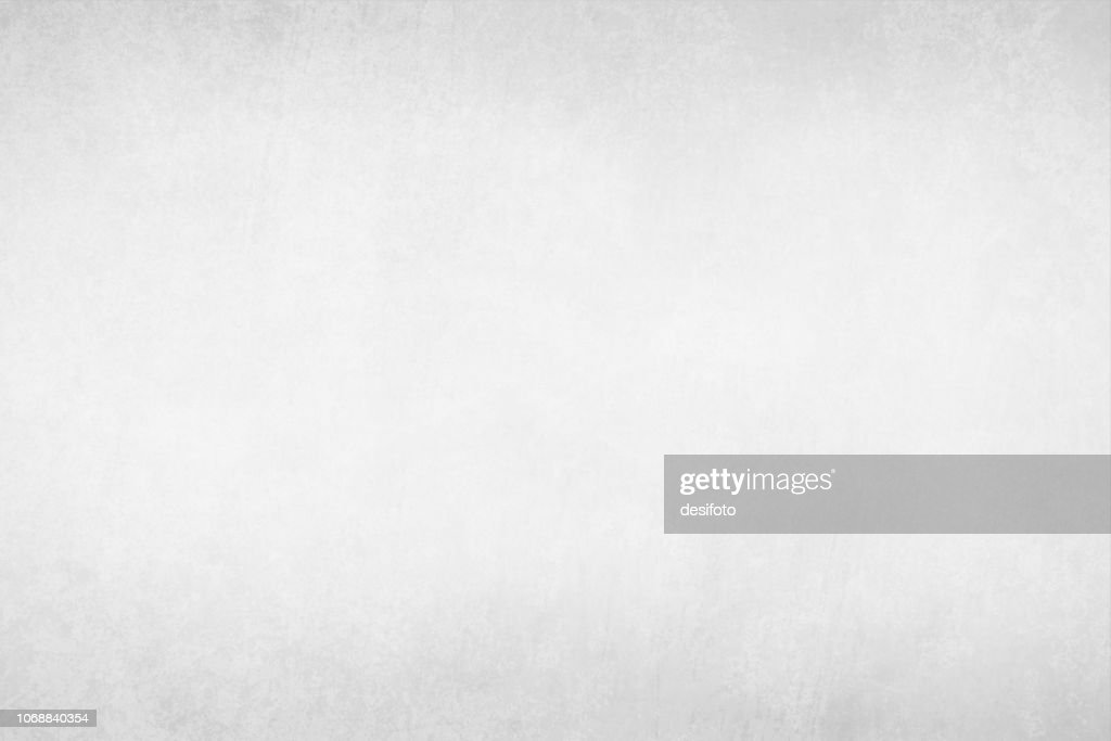 Vector Illustration of Pale Gray plain grungy gradient empty background