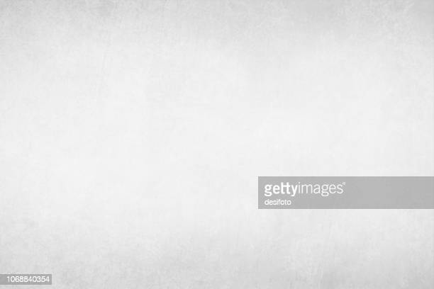 vector illustration of pale gray plain grungy gradient empty background - white stock illustrations