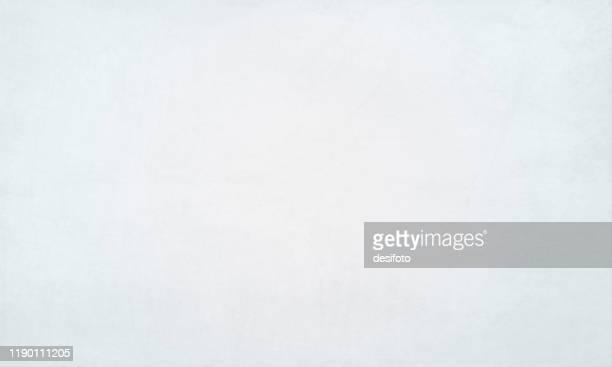 illustrazioni stock, clip art, cartoni animati e icone di tendenza di illustrazione vettoriale dello sfondo vuoto sfumato grungy chiaro bianco pallido - vignettatura