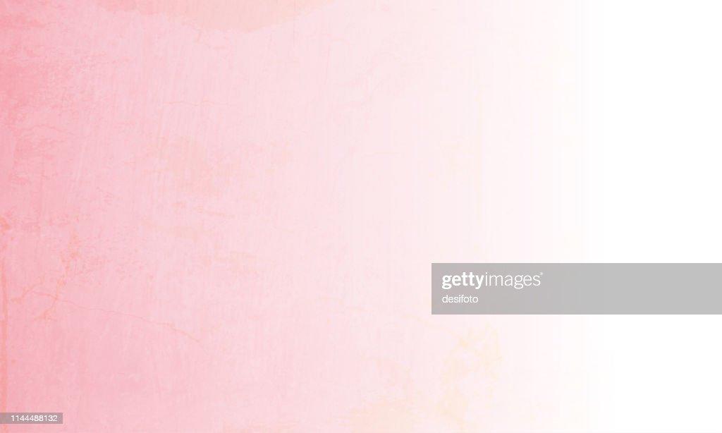 ピンクと白の空グランジ背景のベクトルイラスト : ストックイラストレーション