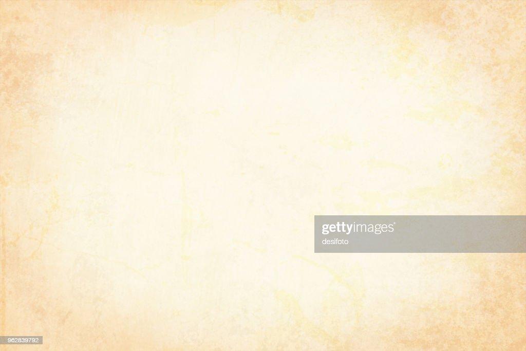 Vector Illustration of plain beige grungy background : stock illustration