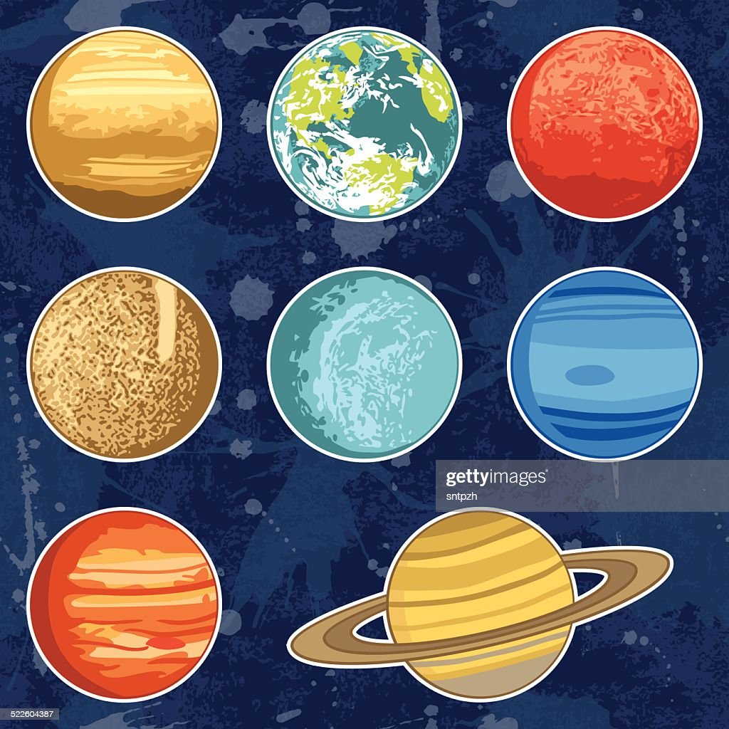 Vector planets