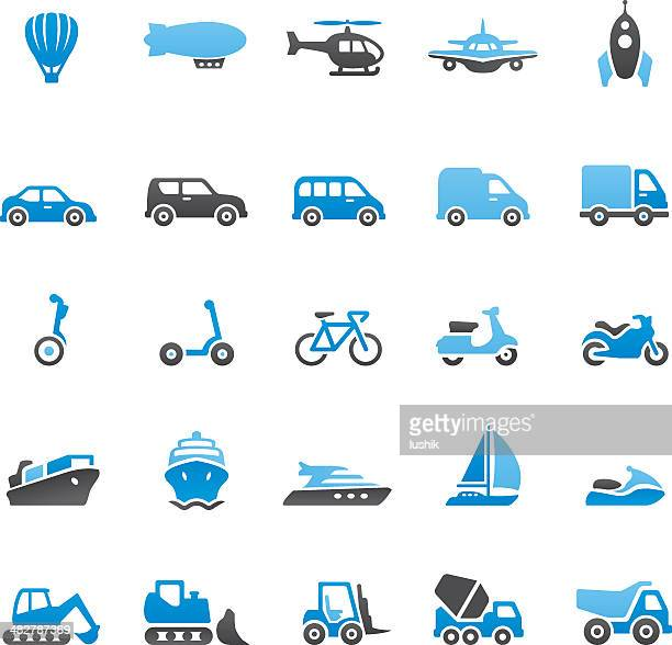 Illustrations et dessins anim s de moyen de transport getty images - Dessin de transport ...