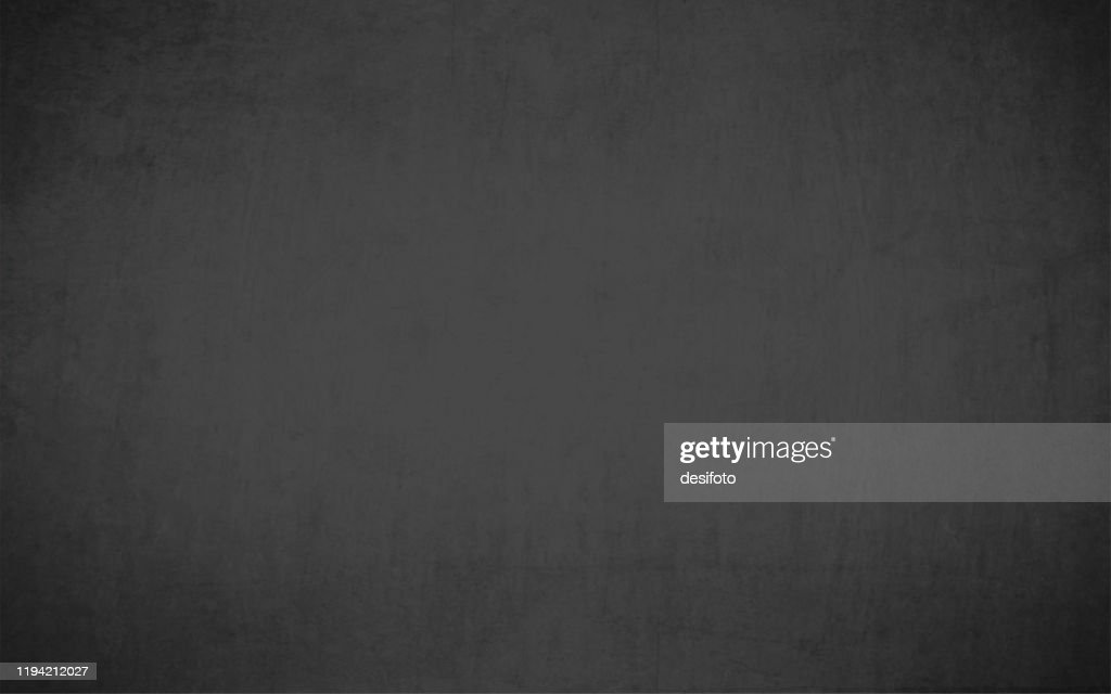 A vector illustration - Textured black colored grungy old background resembling a slate rock or blackboard : Stock Illustration
