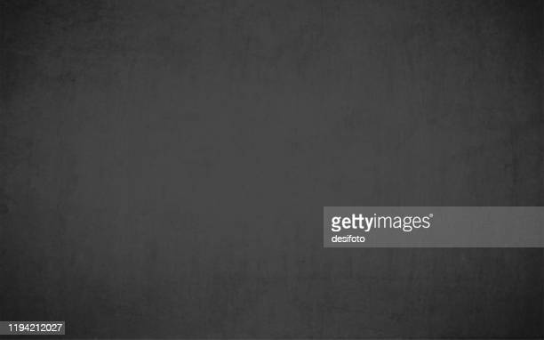 a vector illustration - textured black colored grungy old background resembling a slate rock or blackboard - grey colour stock illustrations
