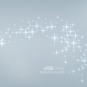 Vector illustration with festive flares.