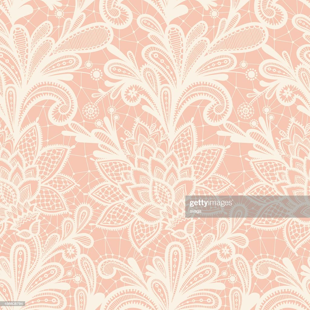 Vector illustration with vintage lace.